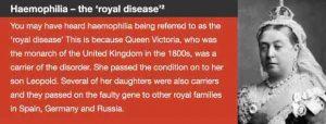 Royal disease